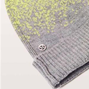 lululemon athletica Accessories - Lululemon winter wool hat   Light & bright toque